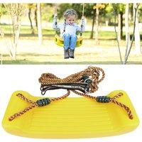 Baby Plastic Swing Seat 40 x 17 x 4 cm Yellow - OOBEST