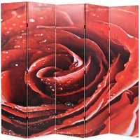 Badgett Room Divider by Bloomsbury Market - Red