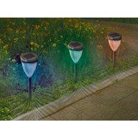Balizas solares de colores Adenis 4