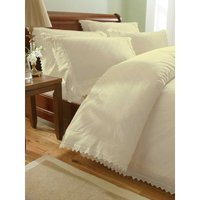 Balmoral Cream Single Duvet Cover Set Bedding Quilt Bed Set