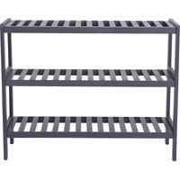 Bamboo Shoe Rack Bench, Shoe Storage, 3-Layer Multi-Functional Cell Shelf, Can Be Used For Entrance Corridor, Bathroom, Living Room And Corridor 70 *