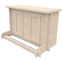 Dunster House Ltd. - Bar Counter Man Cave Home Bar Party Lounge Wood Summer Garden Bar BBQ