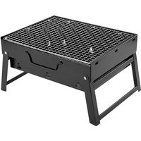Barbecue Grill Grill Portable Folding Charcoal Stove with Handles Mini Outdoor Mohoo