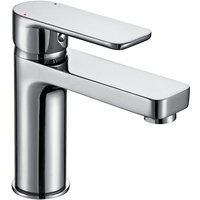 Basin Tap Modern Bathroom Sink Taps Mono Mixer Single Lever Handle Chrome Finish - ARCHITECKT