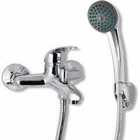 Asupermall - Bath Shower Mixer Tap Kit Chrome
