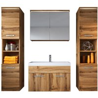 Bathroom furniture set Paso xl 80cm basin Wotan - Storage cabinet vanity unit sink furniture - BADPLAATS
