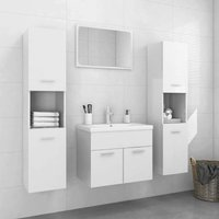 Bathroom Furniture Set High Gloss White Chipboard22300-Serial number