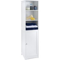 White Tallboy Cabinet - CHRISTOW