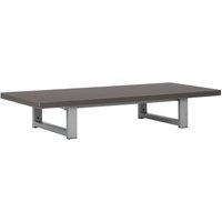 vidaXL Bathroom Wall Shelf for Basin Grey 90x40x16.3 cm - Grey