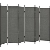 Baum Room Divider by August Grove - Grey