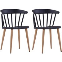 Baxter Dining Chair by Black - August Grove