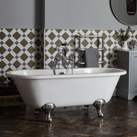 Leinster Double Ended Freestanding Bath 1690mm x 745mm - Bayswater