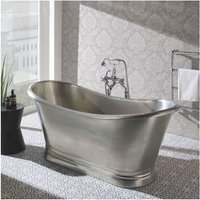 BC Designs Roll Top 1700mm Tin Freestanding Boat Bath