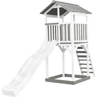AXI - Beach Tower blanc/gris - avec toboggan blanc