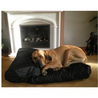 bed pillow for dogs orthopedic dog Dog cushion Nylon BLACK 125x90cm - MERCATOXL