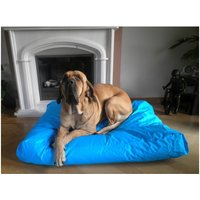 bed pillow for dogs orthopedic dog Dog cushion Nylon Turquoise 125x90cm - MERCATOXL