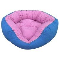 bed pillow for dogs orthopedic dog OutdoorDog Cat Basket Sleeping Basket Plush Blue Pink 65 x 65 cm - MERCATOXL