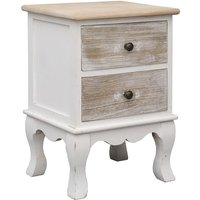 Vidaxl - Bedside Cabinet 35x30x50 cm Paulownia Wood