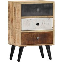 Bedside Cabinet 40x30x60 cm Solid Mango Wood - Brown