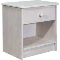 Betterlifegb - Bedside Cabinet 41x30x42 cm Solid Pine Wood27905-Serial number