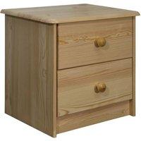 Bedside Cabinet 43x34x40 cm Solid Pine Wood