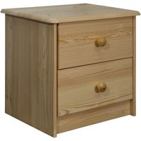 Bedside Cabinet 43x34x40 cm Solid Pine Wood27906-Serial number
