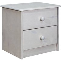 Betterlifegb - Bedside Cabinet 43x34x40 cm Solid Pine Wood27907-Serial number