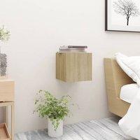 Bedside Cabinet Sonoma Oak 30.5x30x30 cm Chipboard22906-Serial number
