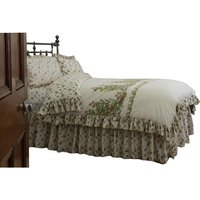 Bella Mae Fitted Valance (Double) (Ivory) - Belledorm