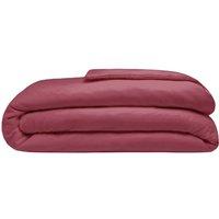 Brushed Cotton Duvet Cover (Single) (Red) - Belledorm