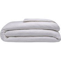 Brushed Cotton Duvet Cover (Single) (Grey) - Belledorm