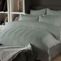 Belledorm Central Park 240TC Egyptian Cotton Duvet Cover Set (Double) (Platinum)