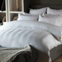 Belledorm Central Park 240TC Egyptian Cotton Duvet Cover Set (Double) (White)
