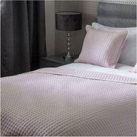 Crompton Quilted Throw (One Size) (Powder Pink) - Belledorm