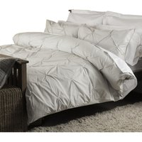 Harlow Duvet Cover Set (Single) (Platinum) - Belledorm