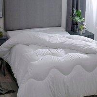 Hotel Suite 4.5 Tog Filled Duvet (Double) (White) - Belledorm