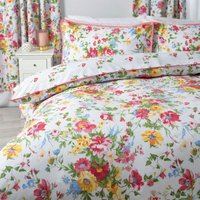 Mia Single Duvet Set (Super King) (Multicoloured) - Belledorm