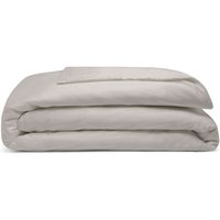 Pima Cotton 450 Thread Count Duvet Cover (Kingsize) (Oyster) - Belledorm
