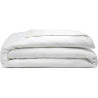Pima Cotton 450 Thread Count Duvet Cover (Kingsize) (White) - Belledorm
