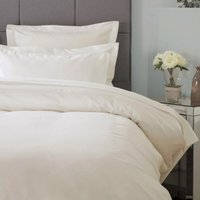 Ultralux 1000 Thread Count Duvet Cover (Single) (Ivory) - Belledorm