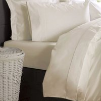 Ultralux 1000 Thread Count Extra Deep Fitted Sheet (Single) (Ivory) - Belledorm