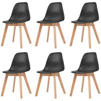 Bemis Dining Chair by Black - Mikado Living