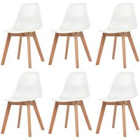 Bemis Dining Chair by Mikado Living - White