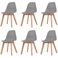 Bemis Dining Chair by Mikado Living - Grey