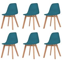 Bemis Dining Chair by Turquoise - Mikado Living