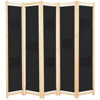Benitez Room Divider by August Grove - Black