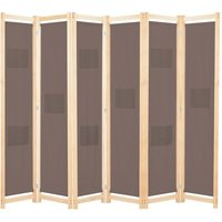 Benitez Room Divider by August Grove - Brown