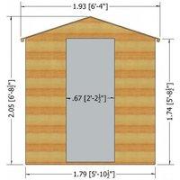 Shire - Berryfield Log Cabin 11 x 10-
