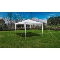 Tonnelle Pavillon de jardin blanc 3x3m - Betterlife