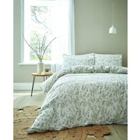 Bianca Akari Natural Super King Size Duvet Cover Set Reversible Bed Linen Bedding